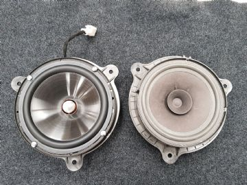 Nissan Qashqai Door Speaker Upgrade